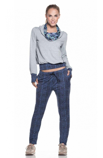 Maaji Pantalones estampado tonos Azules