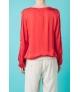 Blusa con aperturas desde hombro hasta los codos
