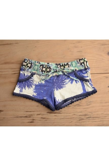 SHORT ESTAMPADO TROPICAL PALMERAS MAAJI