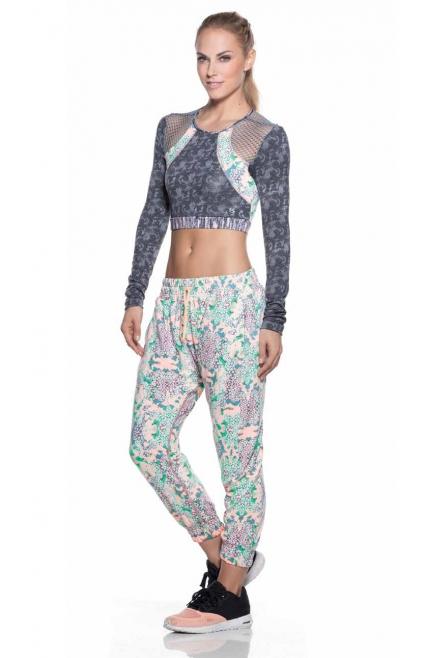 Maaji Pantalones estampados Rosa y Verde