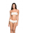 Bikini OndadeMar Volante Everyday Cruise Crema