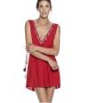 Vestido Corto OndadeMar Rojo.