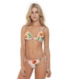 Bikini triángulo Agua Bendita Estampado floral