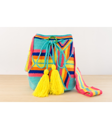 Wayuu Bolso Artesanal - Susuu Girls Étnico