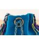 Wayuu Bolso Artesanal - Susuu Azul