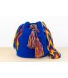 Wayuu Bolso Artesanal - Susuu Azu / Asa en colores rojos y amarillosl